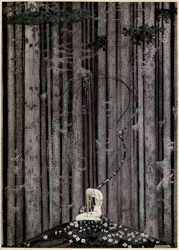 Kay nielsen east of the sun