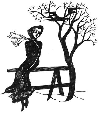 Illustration to Jane Eyre, by Dame Darcy 2