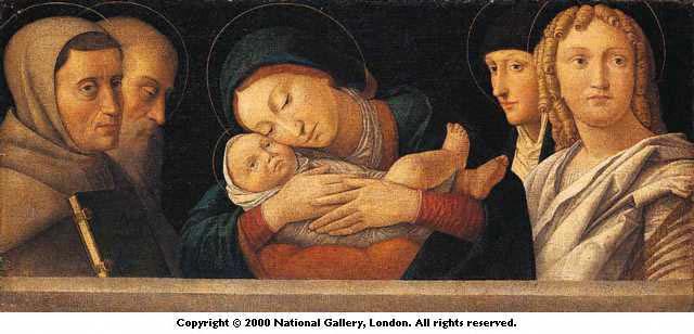 Bonsignori_ Virgin & Child with Four Saints