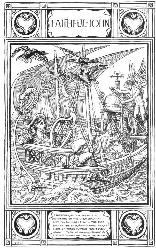 Faithful john walter crane