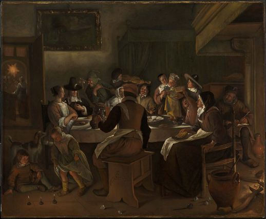 Jan steen twelfth night feast