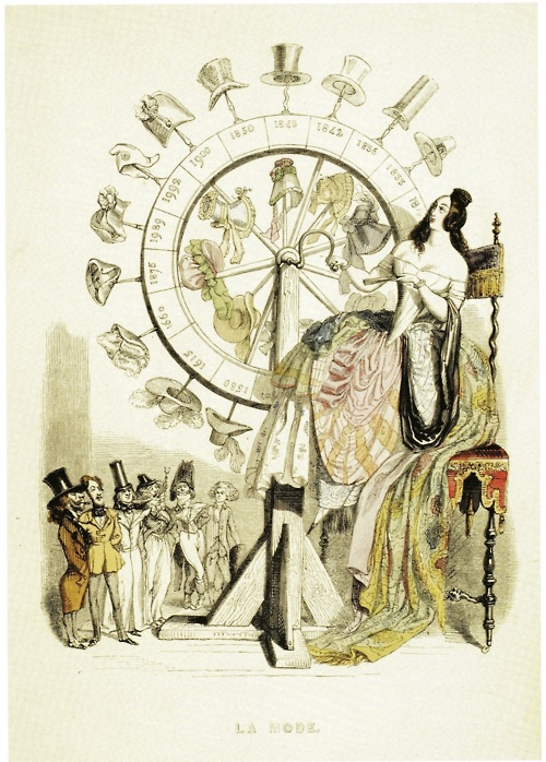 The wheel of fashion