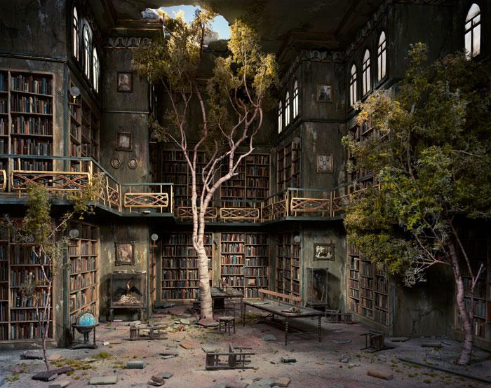 Library Lori Nix