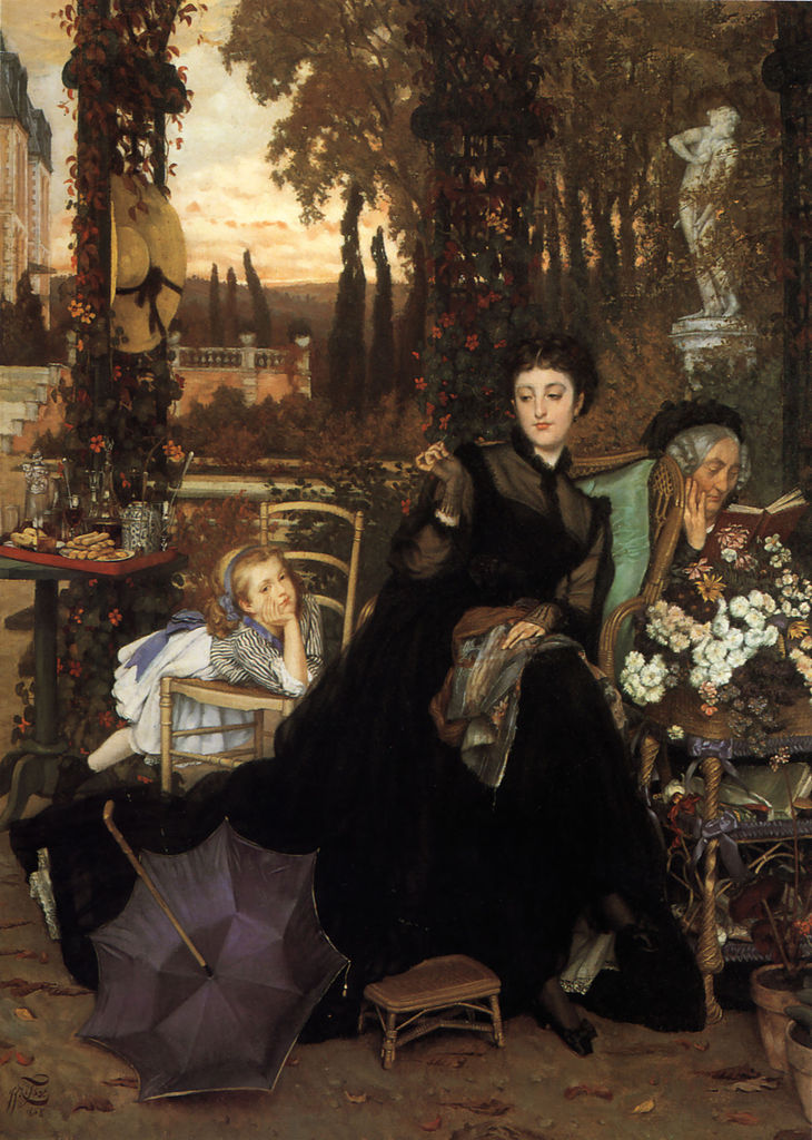 A widow james tissot