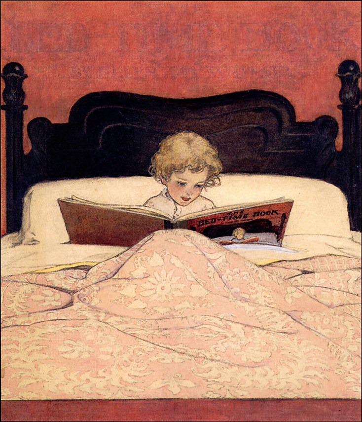 Reading-in-bed