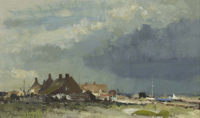 Cottages by an essex estuary