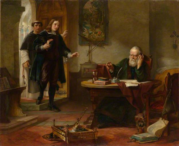 Milton visiting Galileo