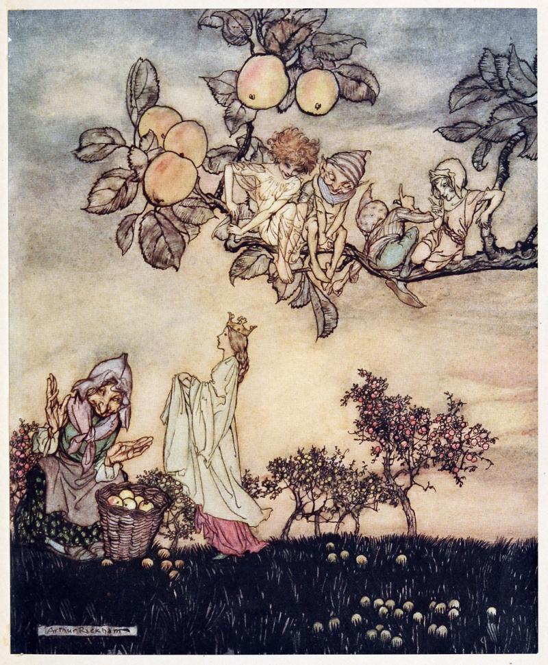 Queen-walks-past-fairies-rackham