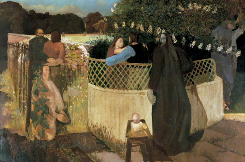 Stanley Spencer Nativity