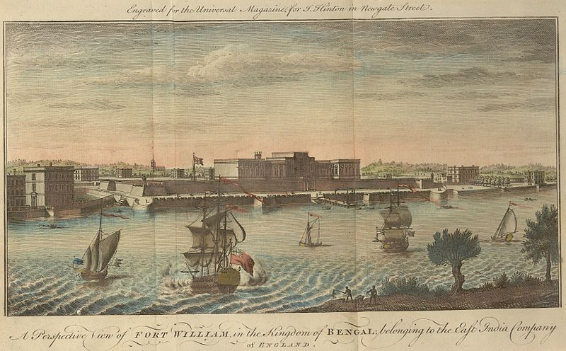 'A_Perspective_View_of_Fort_William'_by_Jan_Van_Ryne _1754